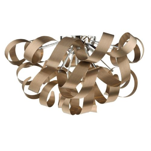 Rawley 5 Light Flush 60CM Brushed Copper RAW0564